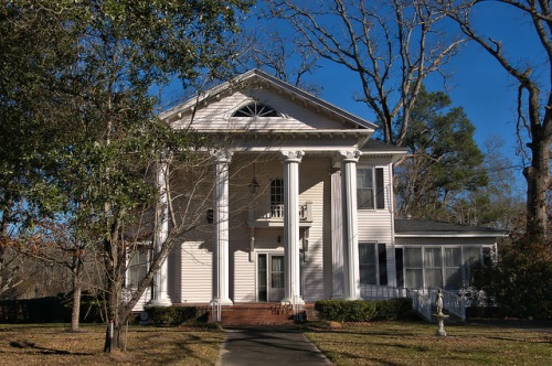 Wadley GA Jefferson County Hale Foster House Photograph Copyright Brian Brown Vanishing South Georgia USA 2016