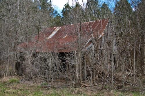 Cracker Farmhouse Wheeler County GA Photograph Copyright Brian Brown Vanishing South Georgia USA 2016