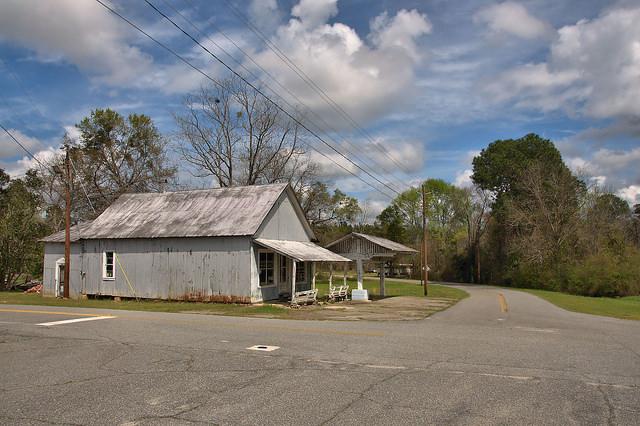 Glenwood GA Brownings Store Photograph Copyright Brian Brown Vanishing South Georgia USA 2016
