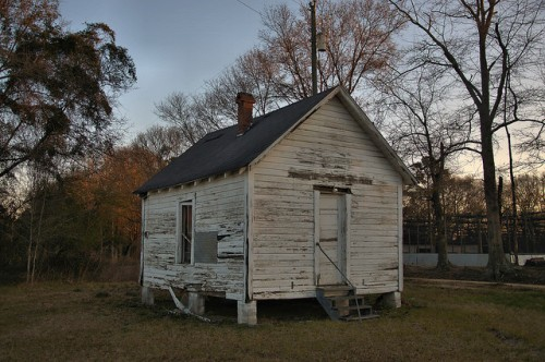 Holt Precinct House Irwin County GA Photograph Copyright Brian Brown Vanishing South Georgia USA 2016