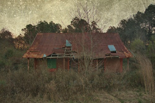 Irwin County GA Veal Road Tenant House Photograph Copyright Brian Brown Vanishing South Georgia USA 2016