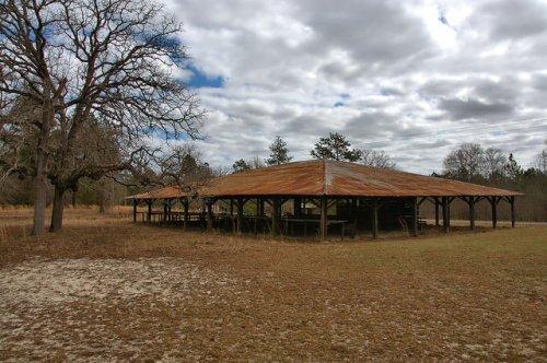 Little Rock Church Camp Ground Wheeler County GA Photograph Copyright Brian Brown Vanishing South Georgia USA 2016
