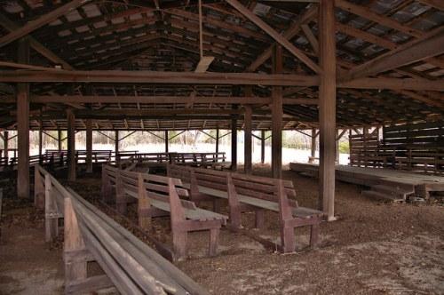 Little Rock Church Campground Wheeler County GA Photograph Copyright Brian Brown Vanishing South Georgia USA 2016