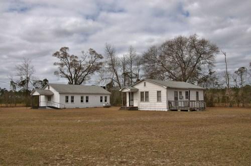 Little Rock Church Wheeler County GA Photograph Copyright Brian Brown Vanishing South Georgia USA 2016