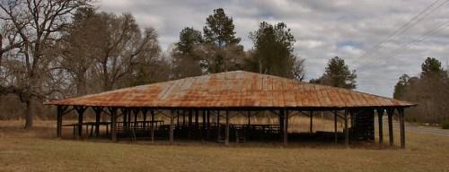 Little Rock Tabernacle Wheeler County GA Photograph Copyright Brian Brown Vanishing South Georgia USA 2016
