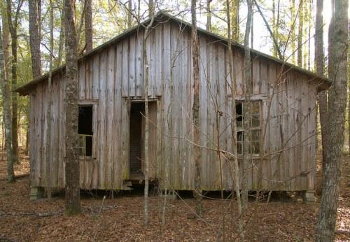 Screven County GA Pine Grove Inn Road Abandoned Farmhouse Photograph Copyright Brian Brown Vanishing South Georgia USA 2016