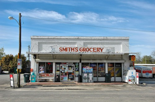 smiths grocery store broxton ga photograph copyright brian brown vanishing south georgia usa 2016