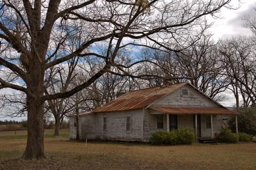 Vernacular Farmhouse Wheeler County GA Photograph Copyright Brian Brown Vanishing South Georgia USA 2016
