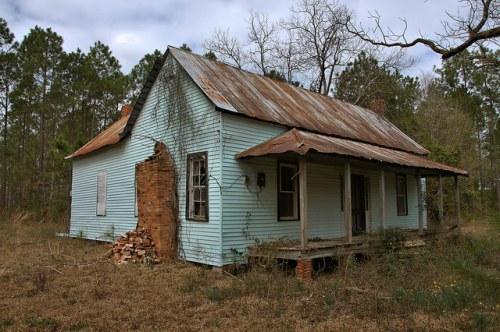 Wheeler County GA Vernacular Farmhouse Photograph Copyright Brian Brown Vanishing South Georgia USA 2016