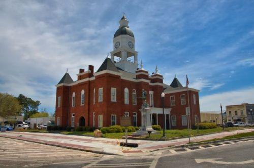 berrien county courthouse nashville ga photograph copyright brian brown vanishing south georgia usa 2016