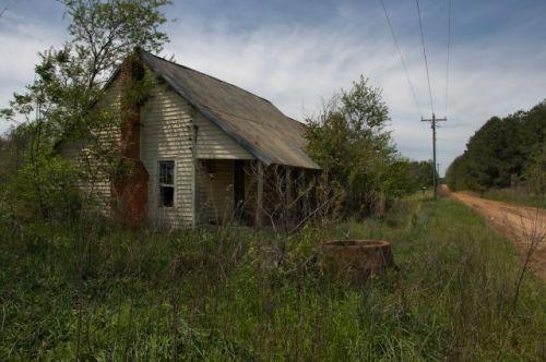 irwin county ga historic farmstead tenant house photograph copyright brian brown vanishing south georgia usa 2016