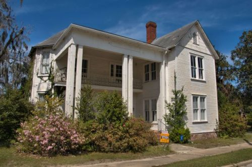 lakeland ga gabled ell house photograph copyright brian brown vanishing south georgia usa 2016