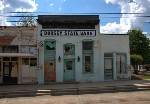 abbeville ga dorsey state bank photograph copyright brian brown vanishing south georgia usa 2016