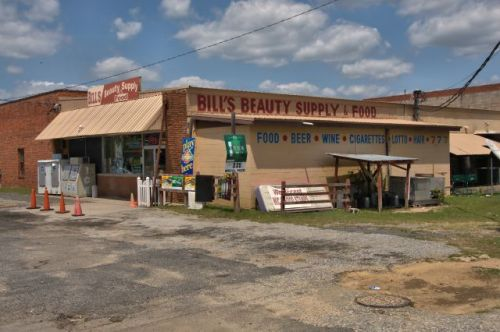 bills beauty supply and food butler ga photograph copyright brian brown vanishing south georgia usa 2016