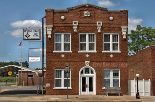 butler ga historic fickling masonic lodge photograph copyright brian brown vanishing south georgia usa 2016