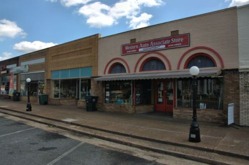 butler ga main street storefronts photograph copyright brian brown vanishing south georgia usa 2016