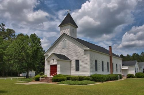 historic bethel lutheran church springfield effingham county ga photograph copyright brian brown vanishing south georgia usa 2016