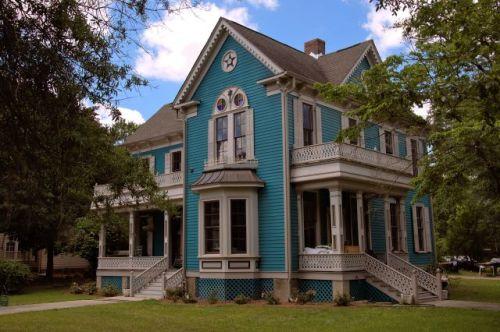 historic hawkinsville ga dr nathaniel jelks house photograph copyright brian brown vanishing south georgia usa 2016