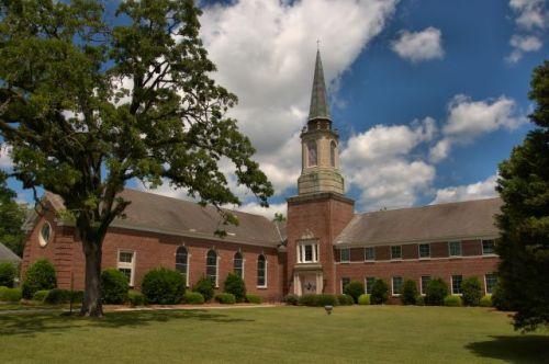 historic hawkinsville ga methodist church photograph copyright brian brown vanishing south georgia usa 2016