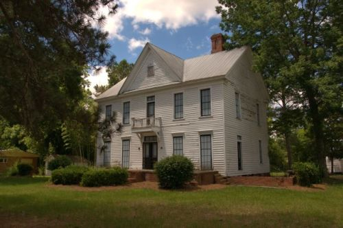historic hawkinsville ga smith house photograph copyright brian brown vanishing south georgia usa 2016