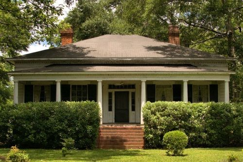 historic marshallville ga donald barton frederick house photograph copyright brian brown vanihsing south georgia usa 2016