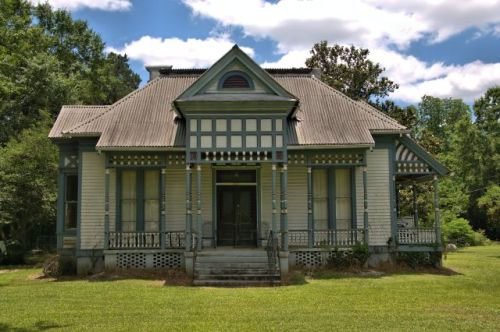 historic marshallville ga sperry house photograph copyright brian brown vanishing south georgia usa 2016