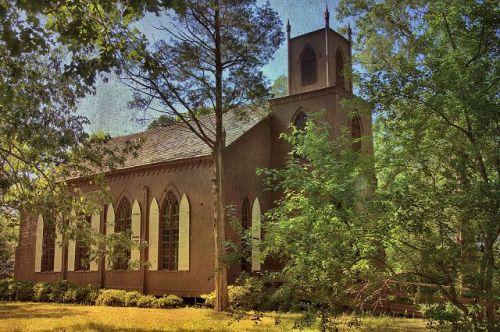 historic zion episcopal church talbotton ga photograph copyright brian brown vanishing south georgia usa 2016