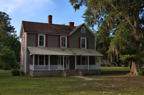 ludowici ga bradwell smith house photograph copyright brian brown vanishing south georgia usa 2016