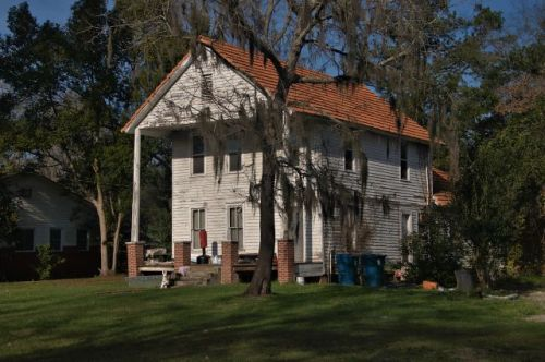 ludowici ga unidentified house photograph copyright brian brown vanishing south georgia usa 2016