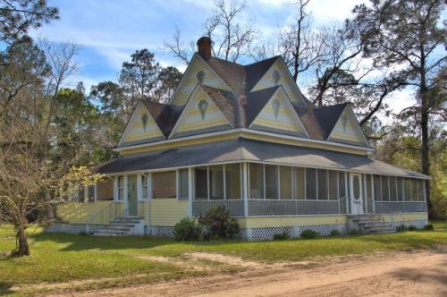 millwood ga folk victorian house photograph copyright brian brown vanishing south georgia usa 2016
