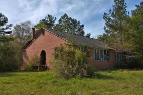 millwood school ware county ga photograph copyright brian brown vanishing south georgia usa 2016