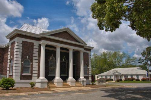 ocilla united methodist church photograph copyright brian brown vanishing south georgia usa 2016