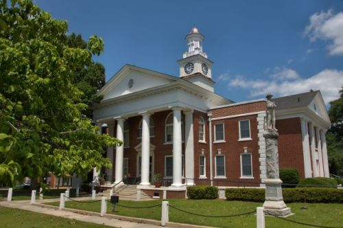 taylor county courthouse butler ga photograph copyright brian brown vanishing south georgia usa 2016