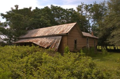 baker county ga vernacular farmhouse tar paper photograph copyright brian brown vanishing south georgia usa 2016