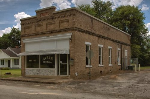 bank of jakin ga photograph copyright brian brown vanishing south georgia usa 2016