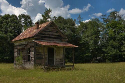 cedar springs ga shotgun tenant house photograph copyright brian brown vanishing south georgia usa 2016