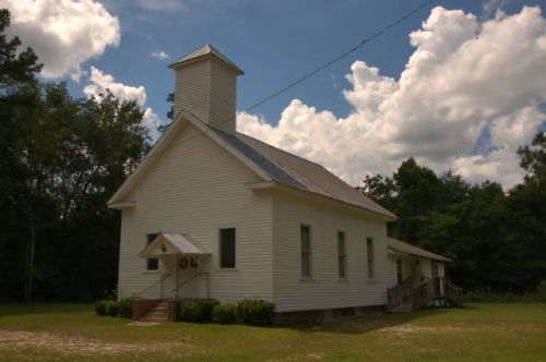 cedar springs pentecostal church early county ga photograph copyright brian brown vanishing south georgia usa 2016
