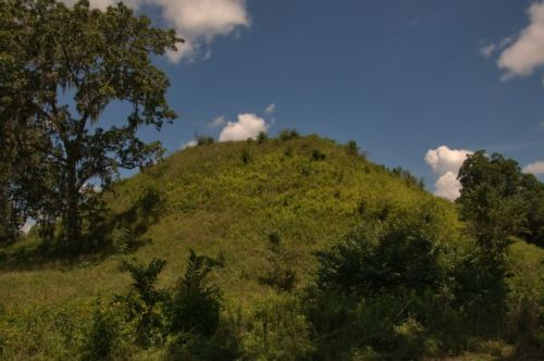 kolomoki mounds early county ga temple mound photograph copyright brian brown vanishing south georgia usa 2016