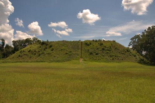 kolomoki mounds national historic landmark temple mound photograph copyright brian brown vanishing south georgia usa 2016
