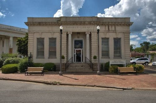 montezuma ga carnegie library photograph copyright brian brown vanishing south georgia usa 2016