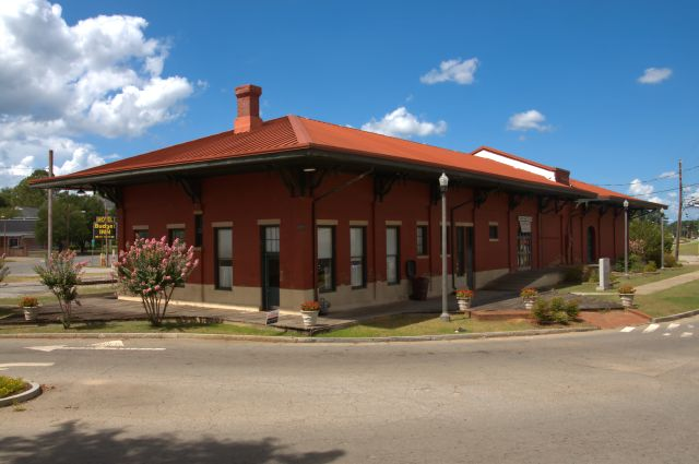 Central Of Georgia Depot, 1890, Montezuma