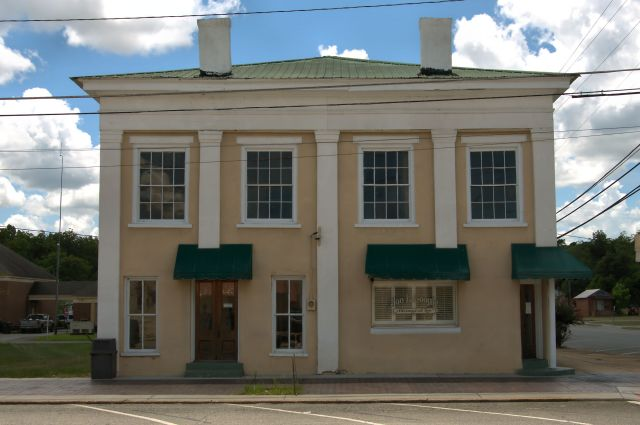 oglethorpe ga 19th century commercial architecture photograph copyright brian brown vanishing south georgia usa 2016