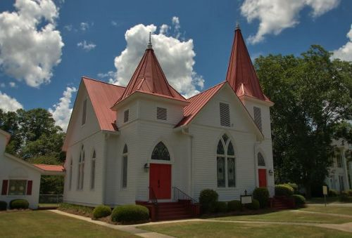 oglethorpe ga historic mt zion st lukes lutheran church photograph copyright brian brown vanishing south georgia usa 2016
