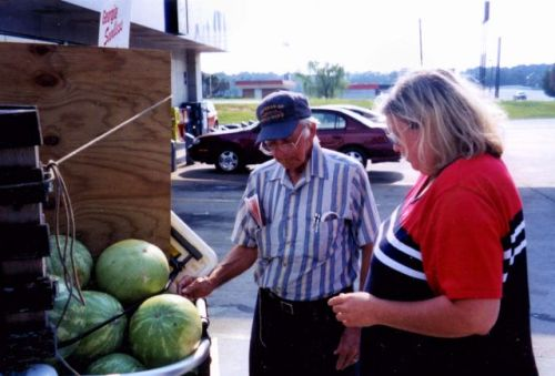 tifton ga watermelon man 2006 photograph copyright brian brown vanishing south georgia usa 2016